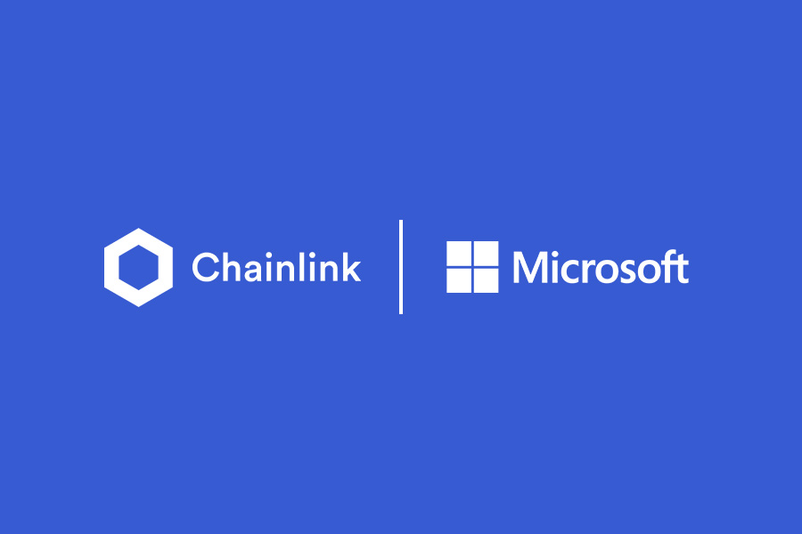 How Chainlink and Microsoft are Working Together Image