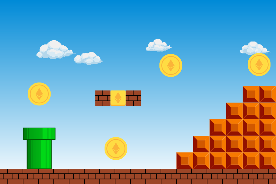 Play to Earn Blockchain Games Image